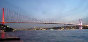 جسر تركيا المعلق سحر اوروبا وجمال آسيا